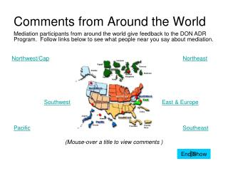 Comments from Around the World