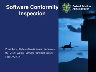 Software Conformity Inspection