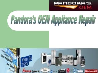 Pandoras OEM Appliance Parts & Service - Murfreesboro