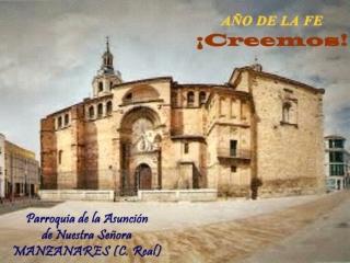 Año de la Fe Parroquia de la Asunción Manzanares