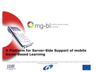A Platform for Server-Side Support of mobile Game-Based Learning
