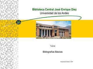 Biblioteca Central Jos  Enrique Diez  Universidad de los Andes
