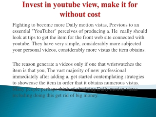 buying youtube views