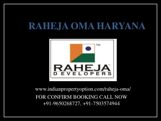 raheja oma price call 9650268727