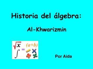 Historia del  lgebra: