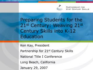 A New Vision for  21st Century Education