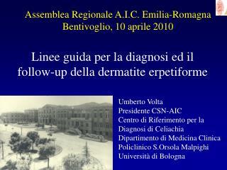 Assemblea Regionale A.I.C. Emilia-Romagna Bentivoglio, 10 aprile 2010