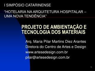 PROJETO DE AMBIENTA  O E TECNOLOGIA DOS MATERIAIS