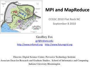 MPI and MapReduce