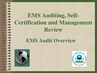 EMS Auditing, Self-Certification and Management Review