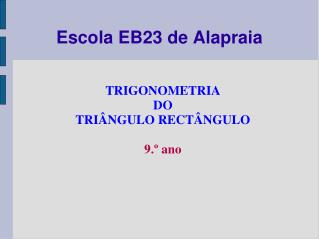 Escola EB23 de Alapraia