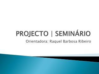 PROJECTO  SEMIN RIO