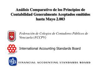 Federaci n de Colegios de Contadores P blicos de Venezuela FCCPV