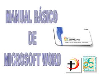 MANUAL B SICO  DE  MICROSOFT WORD