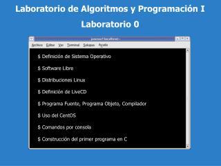 Definici n de Sistema Operativo    Software Libre   Distribuciones Linux   Definici n de LiveCD   Programa Fuente, Prog