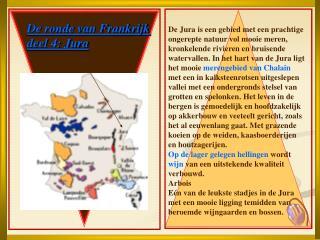 De ronde van Frankrijk deel 4: Jura