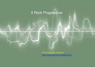 Il Rock Progressive
