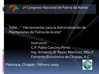 2  Congreso Nacional de Palma de Aceite