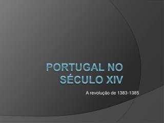 Portugal no s culo XIV