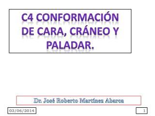 C4 CONFORMACI N DE CARA, CR NEO Y PALADAR.