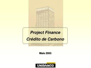 Project Finance  Cr dito de Carbono