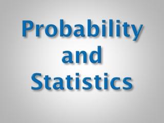 Statistique et probabilit s au coll ge