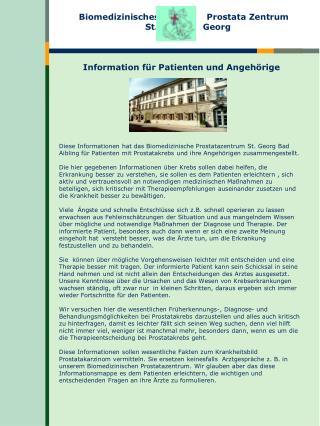 Information f r Patienten und Angeh rige