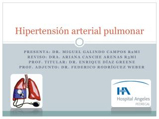Hipertensi n arterial pulmonar