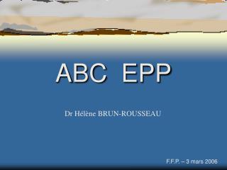ABC  EPP