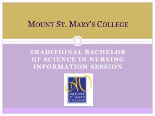 Mount St. Mary s College