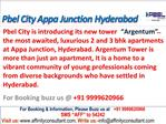 New Prelaunch Tower 2/3 bhk Argentum apartments by PBEL City