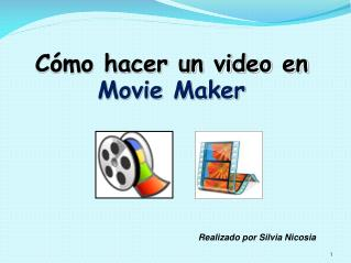 C mo hacer un video en  Movie Maker