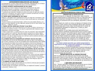 BOLETIN DE ORACION No. 8  ENE-11- 2004