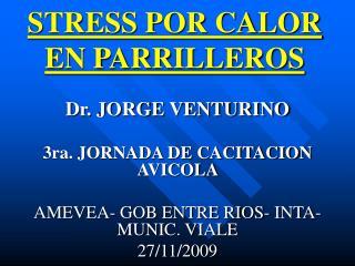 STRESS POR CALOR EN PARRILLEROS