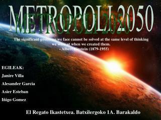 METROPOLI 2050