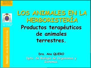 ANIMALES MEDICINALES