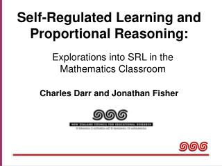 Self-Regulated Learning and Proportional Reasoning: