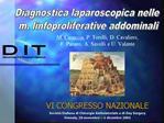 M. Casaccia, P. Torelli, D. Cavaliere,  F. Panaro, A. Savelli e U. Valente     VI CONGRESSO NAZIONALE Societ  Italiana d