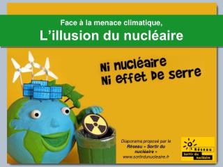 Face   la menace climatique, L illusion du nucl aire