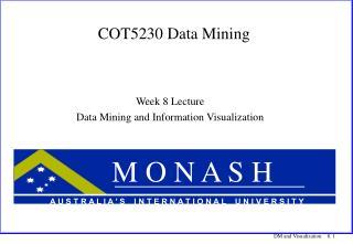COT5230 Data Mining