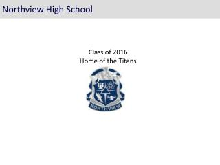 Class of 2016 Home of the Titans