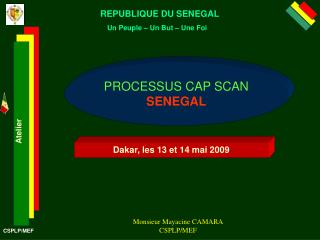 REPUBLIQUE DU SENEGAL