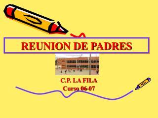 REUNION DE PADRES