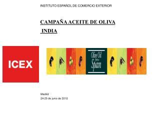 INSTITUTO ESPA OL DE COMERCIO EXTERIOR