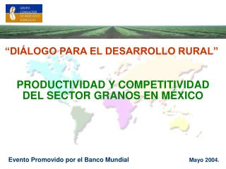 PRODUCTIVIDAD Y COMPETITIVIDAD DEL SECTOR GRANOS EN M XICO