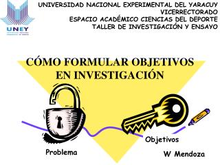 UNIVERSIDAD NACIONAL EXPERIMENTAL DEL YARACUY  VICERRECTORADO ESPACIO ACAD MICO CIENCIAS DEL DEPORTE TALLER DE INVESTIGA