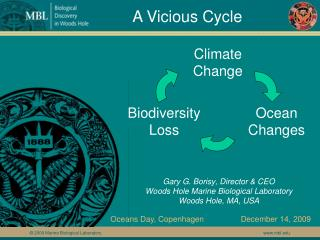 Gary G. Borisy, Director  CEO   Woods Hole Marine Biological Laboratory Woods Hole, MA, USA