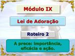 M dulo IX