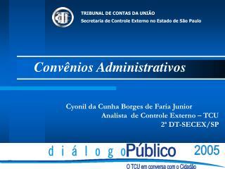 Conv nios Administrativos