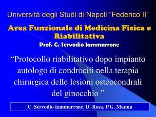 Universit  degli Studi di Napoli  Federico II